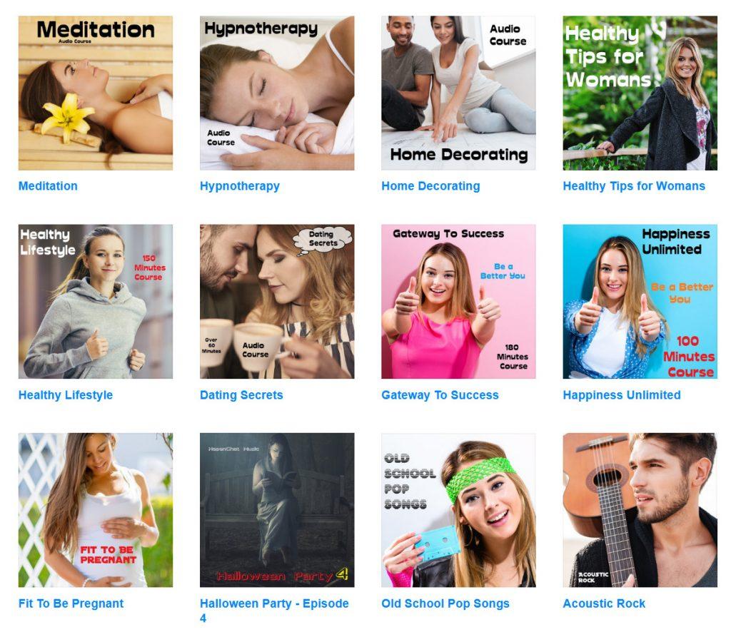 Besuchen Sie den HasenChat Shop, um Musik- und Audiokurse zu erhalten. Klicken Sie auf das Foto, um weitere Informationen zu den 1-Dollar-Angeboten zu erhalten.